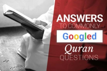 Answers to Googled Qur'an Questions