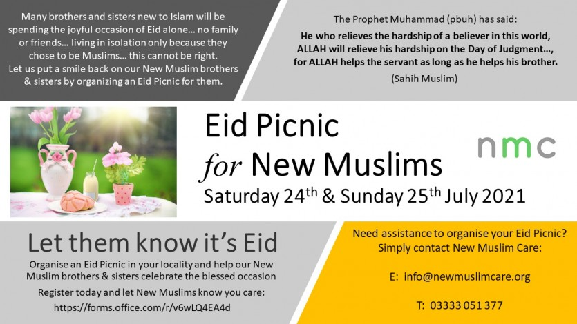 Eid Picnic for New Muslims